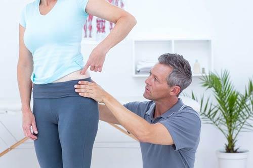 درمان ناحیه لگن با درمان دستی :