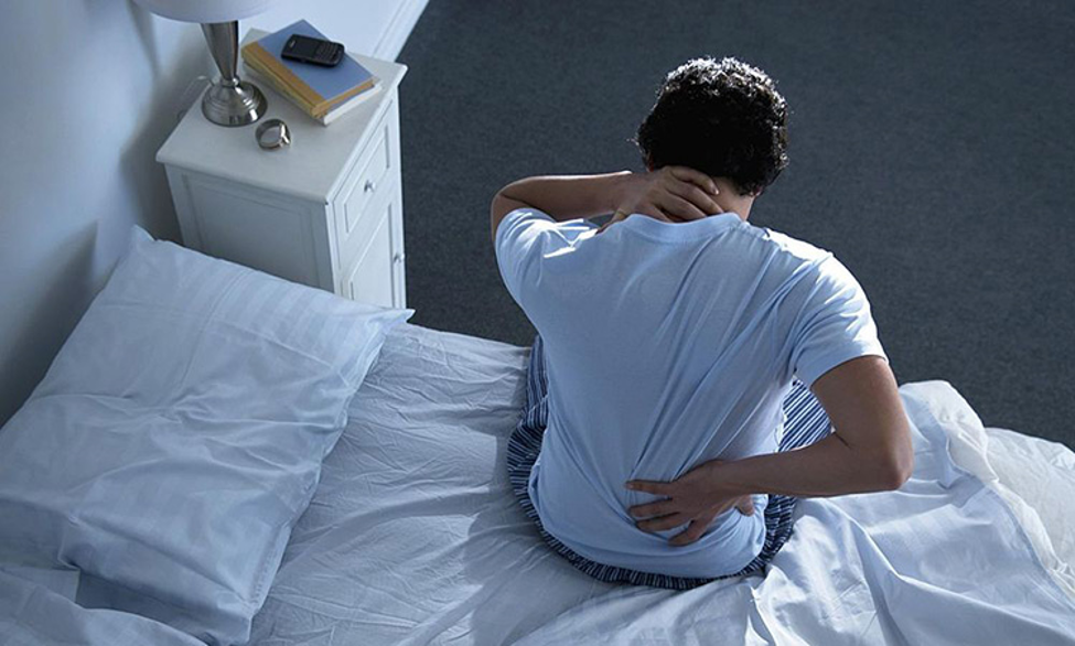 کمر درد بر اثر کم تحرکی و یکجا نشینی: