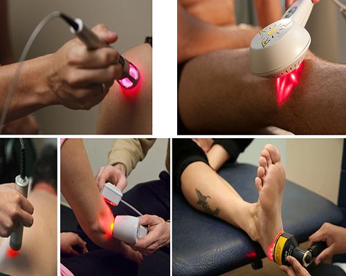 - فیزیوتراپی با لیزر برای درمان زانو: