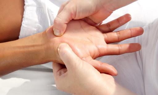 - فیزیوتراپی با لیزر برای درمان مچ دست: