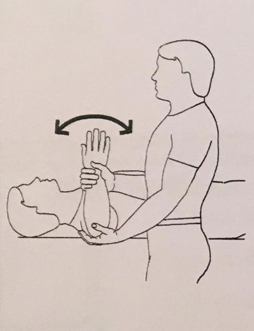 حرکت دادن بازو: