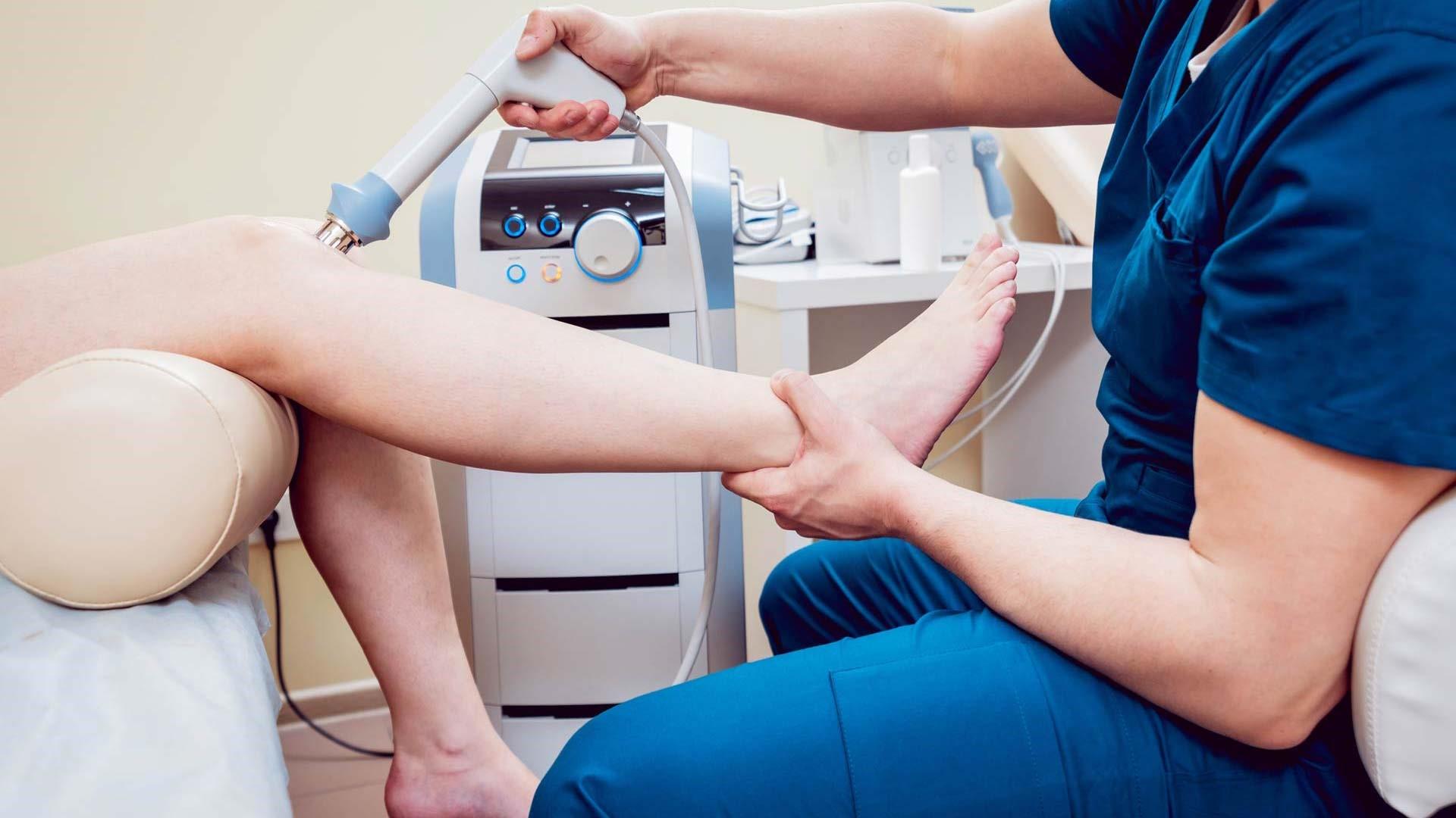 درمانهای فیزیوتراپی غیر فعال در درمان زانو درد